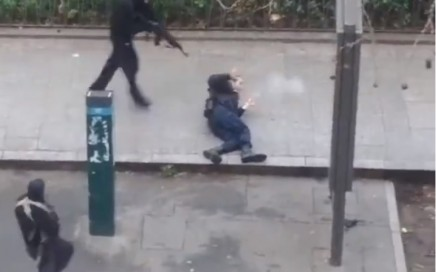Fake Hebdo Shooting